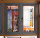 Aluminium Sliding Window Profiles with powder Coating gray