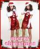 Asian Santa Costume For Women