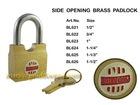 Side Opening Brass Padlock (BL621)