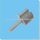 60mm end plug with Long Quadrate head for outdoor awning blind-awning components