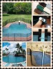 Safety Swimming Pool Fence by ZNZ