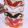 colourful mustache bracelet bangle BR3049