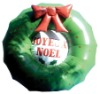 celebrate christmas oxford flower inflatable christmas decorations