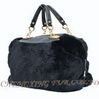 CX-H-42 Rex Rabbit Fur Women Sheepskin Designer Bag
