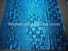 fashion snakeskin pattern filament gilding knitting fabric