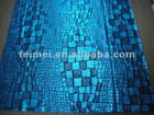 fashion snakeskin pattern filament gilding knitting fabric
