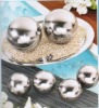 good quality and high precision stainless steel hollow ball ( SGS approved )