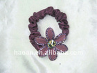 2012 new product for Flower Floral Hair Tie Band(HA-0041)
