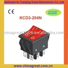 CGC ROCKER SWITCH KCD3-204N taiheng rocker switches