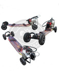 gas skateboard 49cc with plastic deck