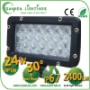 24W led work lamp led auto lamp flood light