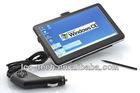 2012 Hot sale!7 inch GPS Navigator touch screen very cheap