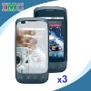 3 Pack Clear Screen Protector for LG Optimus S / LS670 with Free Cleaning Cloth(IMC-MOU77-0111)
