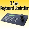 cctv 3 Axis Keyboard Controller for PTZ CAMERA