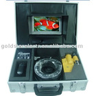 Underwater system with 7'' lcd monitor and 20m 4-pin cable