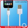 High quality 1M usb data 8 pin cable for iphone 5