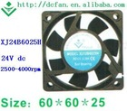 24Vdc 6025 control panel cooing fans