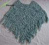 ladies hand crochet triangle scarf