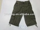 YSW news twill shorts
