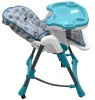 EN14988 Approved baby feeding high chair/plastic high chair
