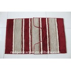 2 PIECE BATH SET -Bath rug&mat