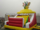 2013 hot sale inflatable climbing wall