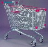 European style shopping trolley 150L
