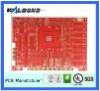 4 Layer motherboard PCB with buried&blind hole for dvb