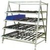 Flow rack system rack