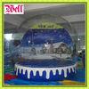 2012 Christmas inflatable snow globe