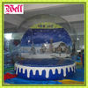 2012 Christmas inflatable snow globe