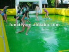 Hot Selling inflatable soap football playground