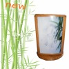 2012 Hot-selling bamboo box with light/bamboo display/outdoor advertising