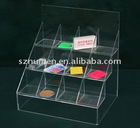 Acrylic display supplier cosmetic Display stand