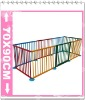 Wooden Baby Safety colorized Playpen/play yard