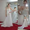 2013 new style astergarden sleeveless Wedding Dress AS207