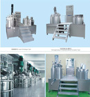 internal &external circulatino vacuum homogenizing emulsifier mixer