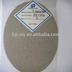 Porous titanium sintered plates