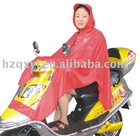 polyester with PVC coated fabric motorcycle raincoat