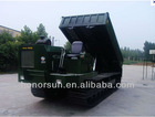 oil palm crawler track dumper transporter carrier terrain