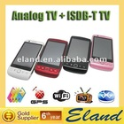 Hot sale ISDB-T digital TV phone 9860 four sim card phone