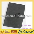 7 inch leather case for epad