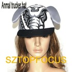 NEWEST BASEBALL CAP TRUCKER HAT ELEPHANT DESIGN