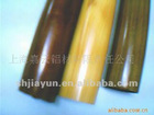 wooden finished aluminum tube as per customer's sizes