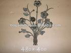 Decorative cast iron rosette
