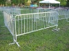 2m hot dipped metal crowd control barrier