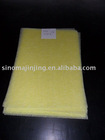 yellow fiberglass pipe wrap tissue