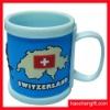 Promotion rubber pvc 3D mug cup