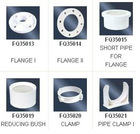 U Type Plastic Pipe 20mm-63mm PVC Bracket