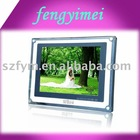 Clear Acrylic Photo Frame Display&Stand,Lucite Photo Frame